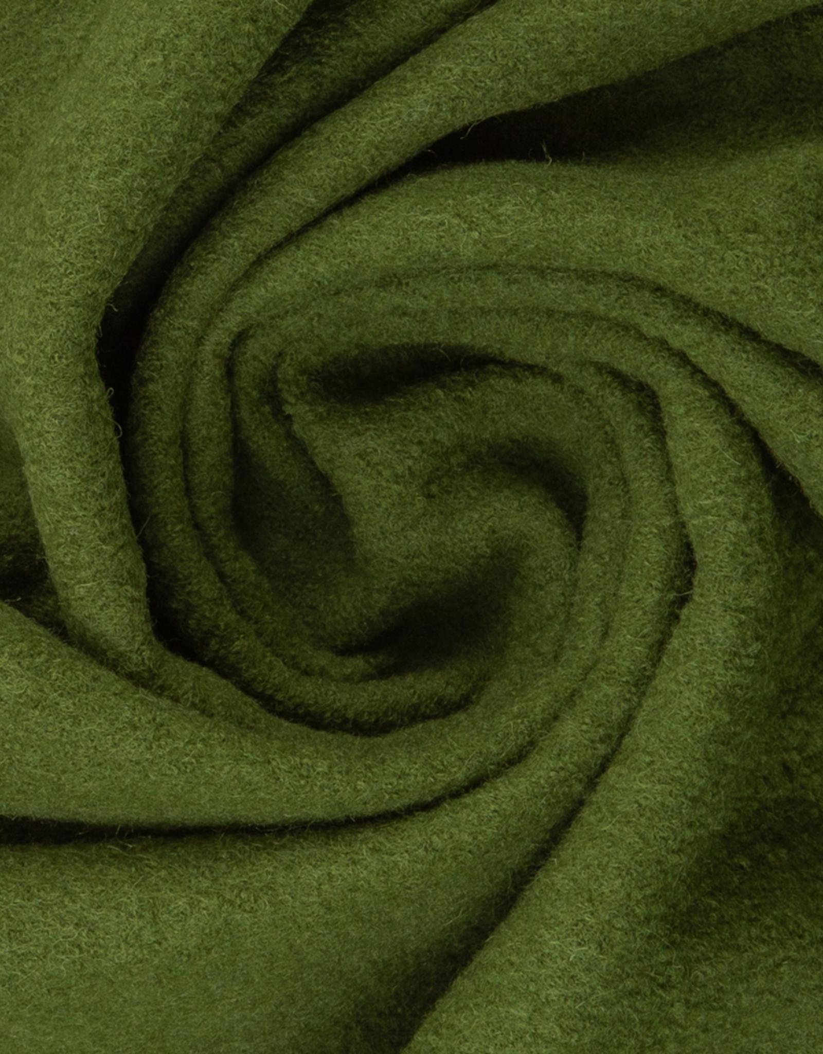 Gekookte wol - Olive