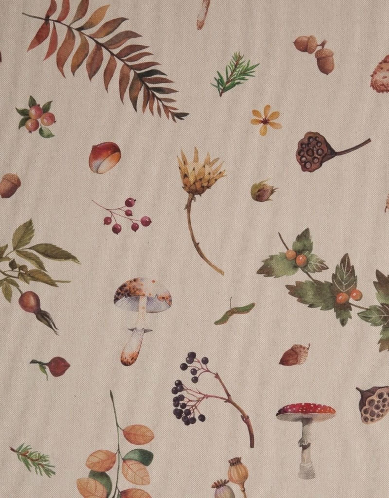 Deco - Mushrooms Linnenlook