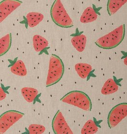 Deco - Linnenlook Fraise Watermelon