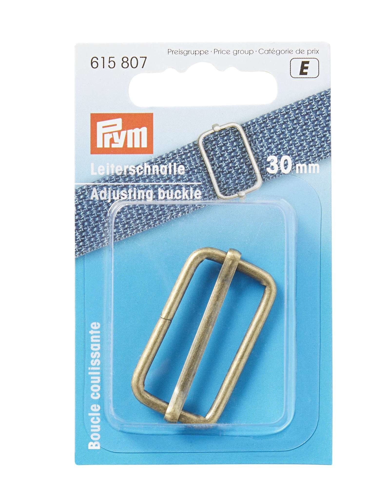 Prym Prym 615.807 - Schuifgesp 30mm - Antiek Brons