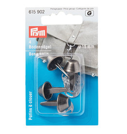 Prym Prym 615.902 - Tasvoetjes 15mm - Antiek Zilver