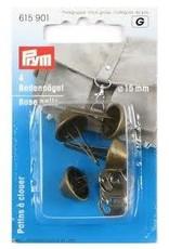 Prym Prym 615.901 - Tasvoetjes 15mm - Oudmessing