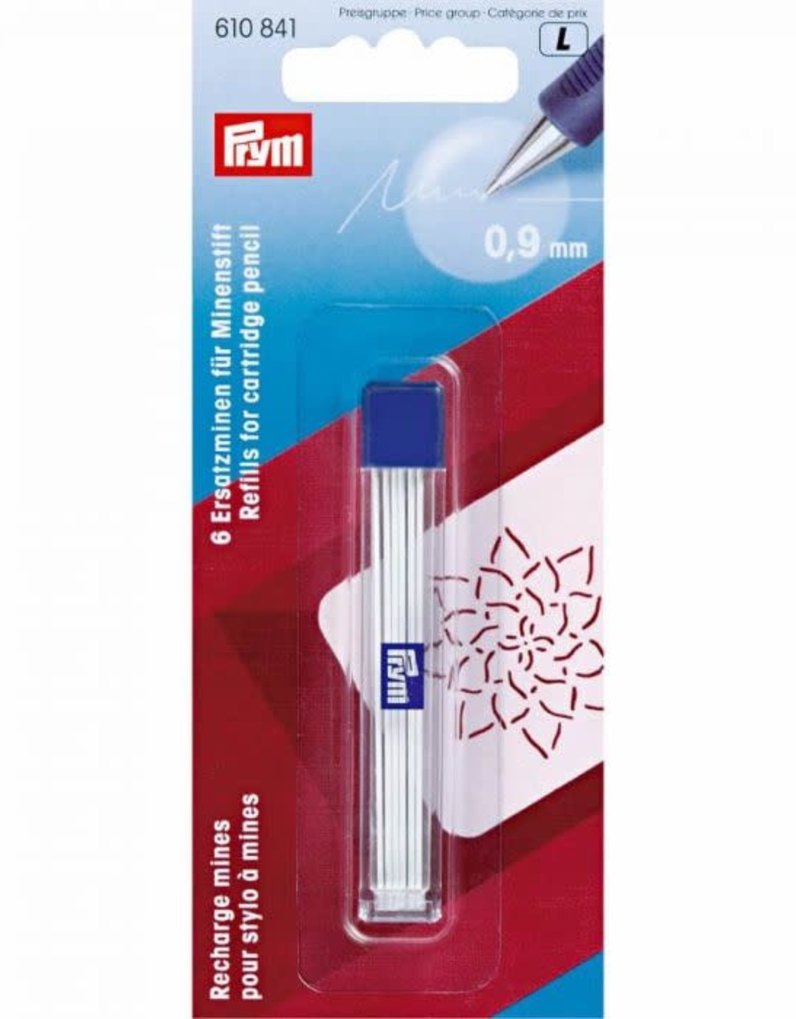 Prym Prym 610.841 - Vulling potlood - Wit