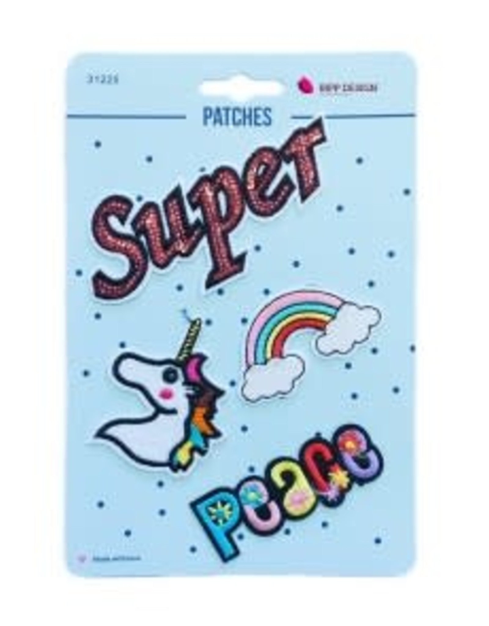 Bipp Design Patches - Super Peace