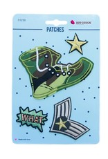 Bipp Design Patches - What High Boot