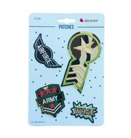 Bipp Design Patches - What Army