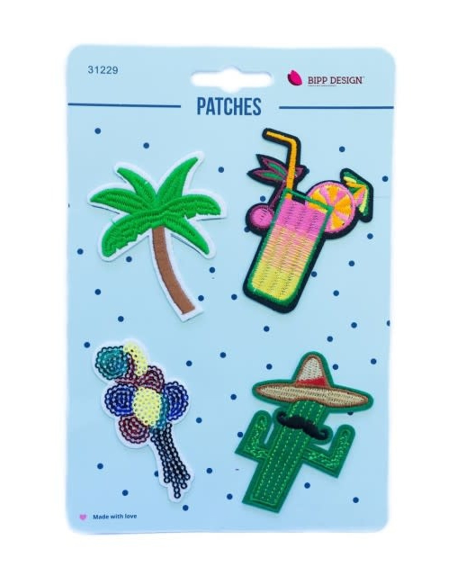 Bipp Design Patches - Cocktail Palmtree