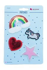 Bipp Design Patches - Rainbow Unicorn