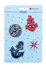Bipp Design Patches - Marine Anchor