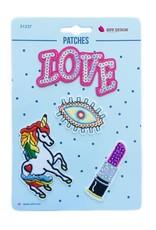 Bipp Design Patches - Love Eye