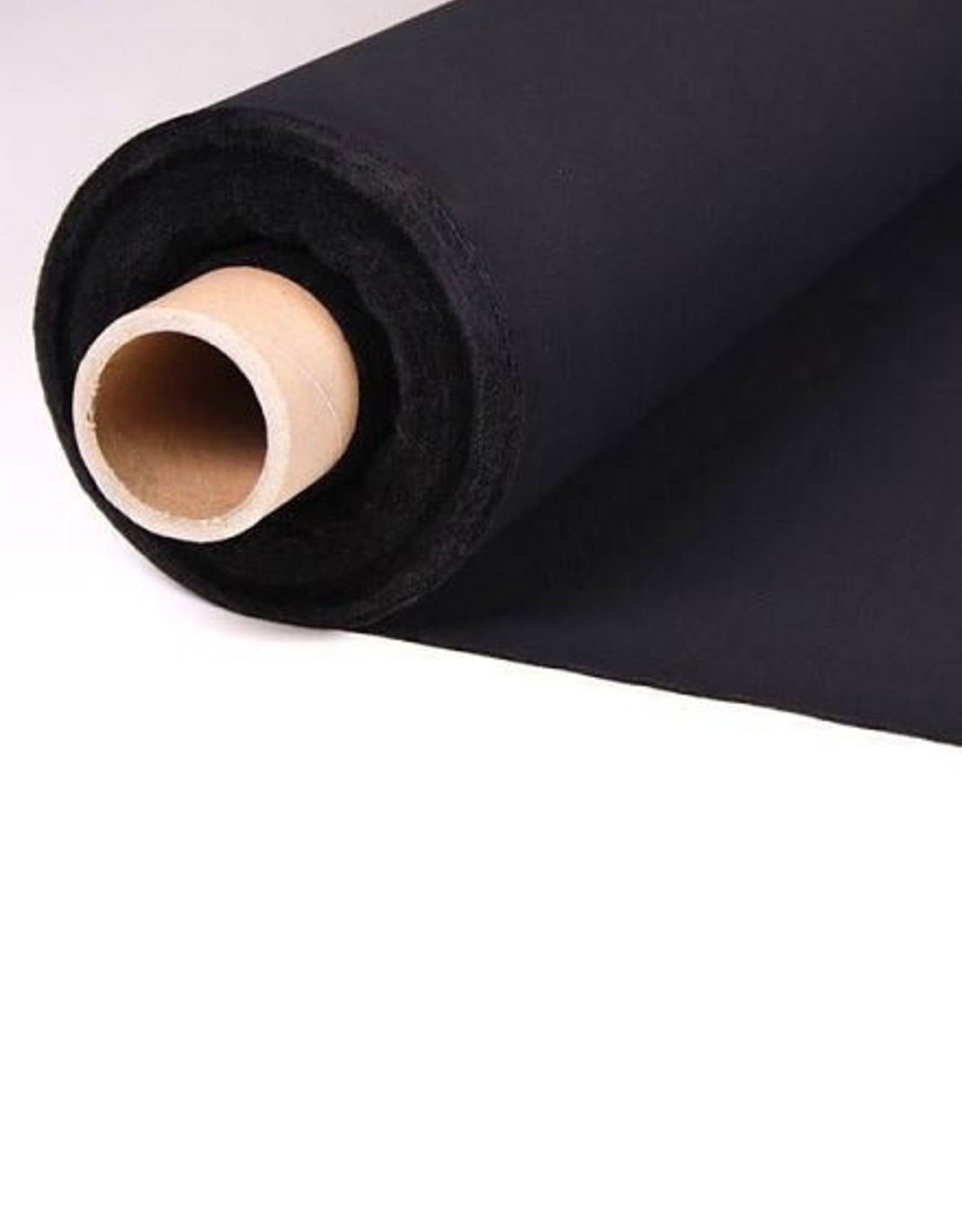 Plakvlies voorverpakt - 1m - Zwart