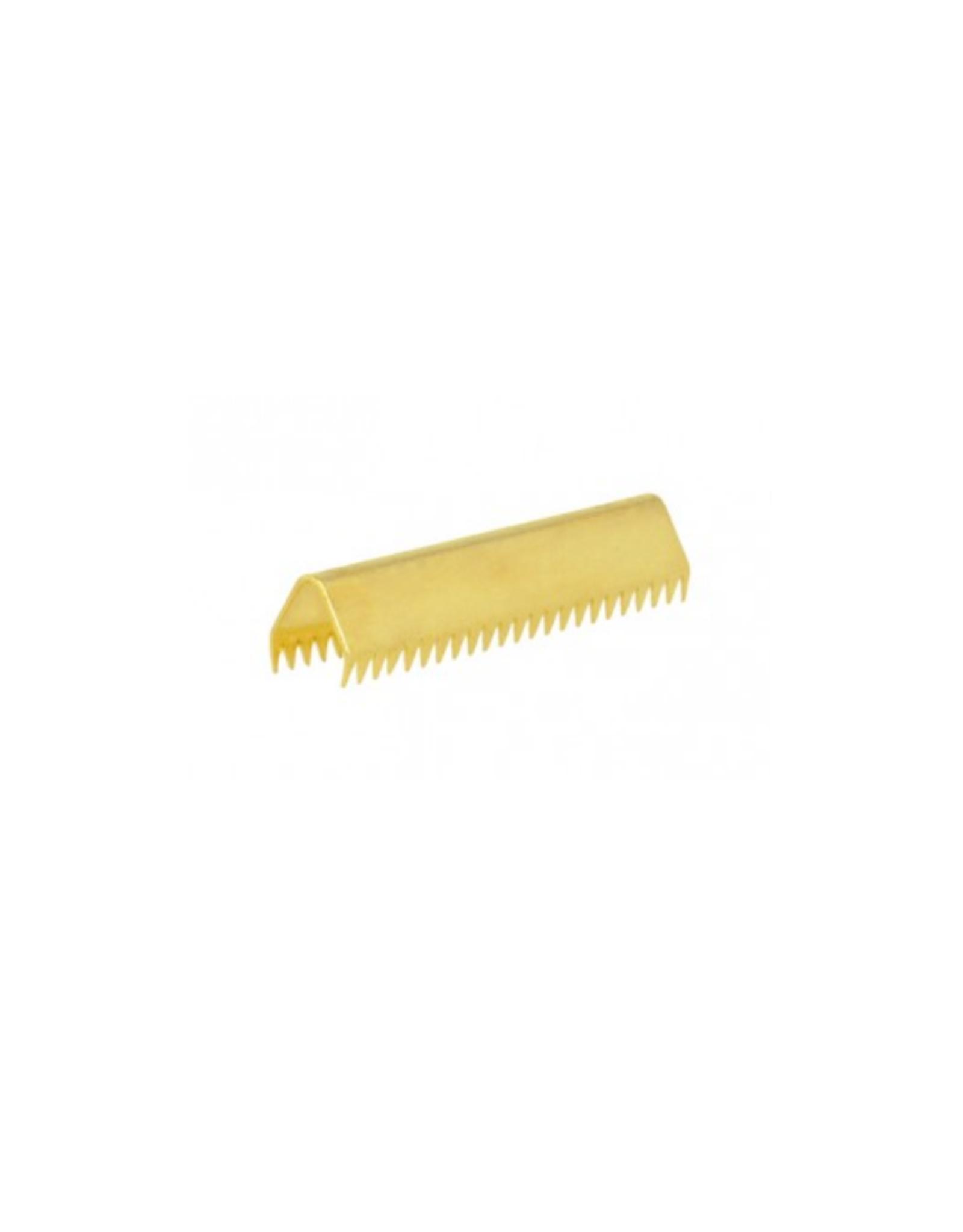 Eindje voor tassenband - 30mm - Goud