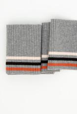 Cuff - Grijs/Ecru/Zwart/Oranje