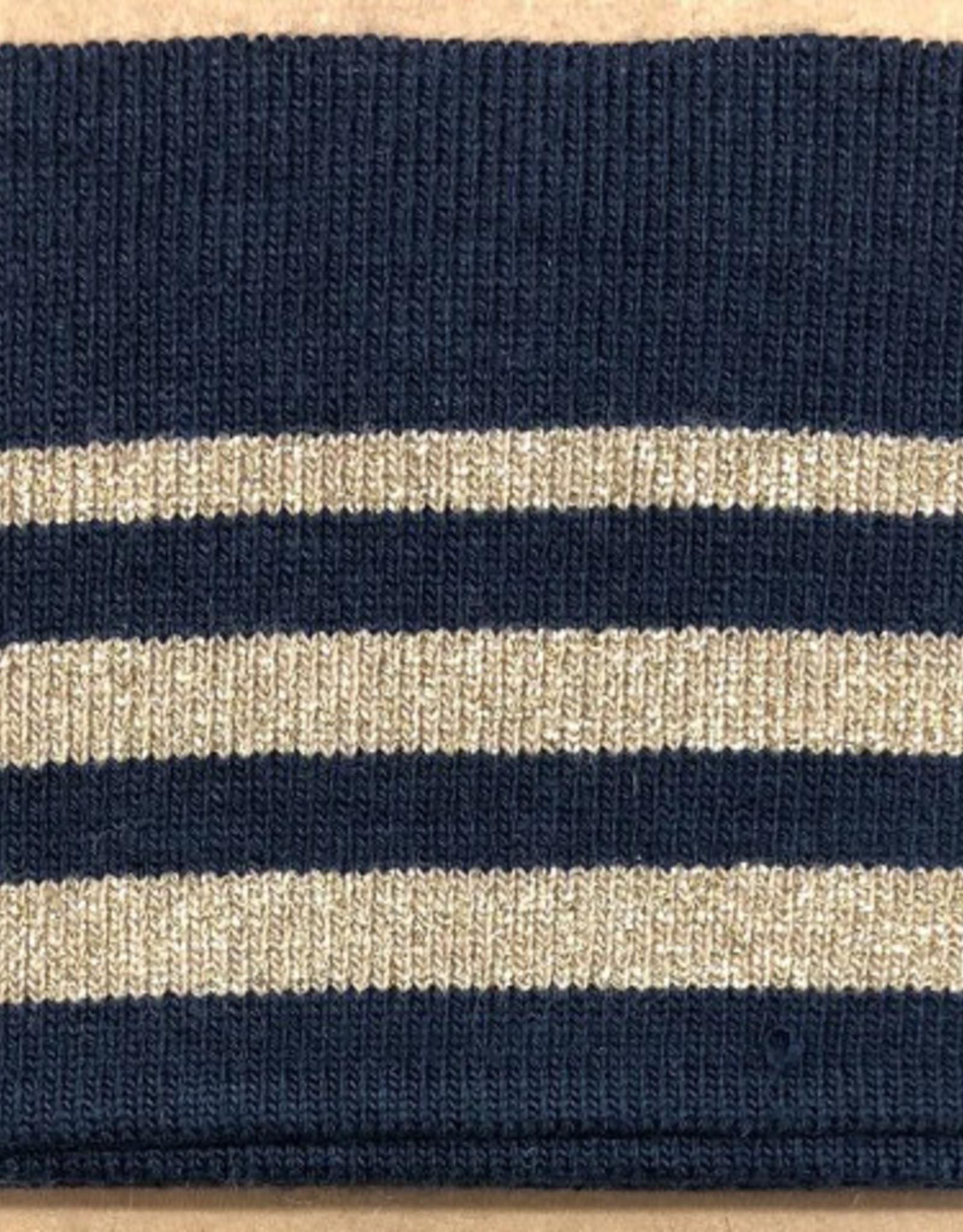 Cuff - Marineblauw/Goud