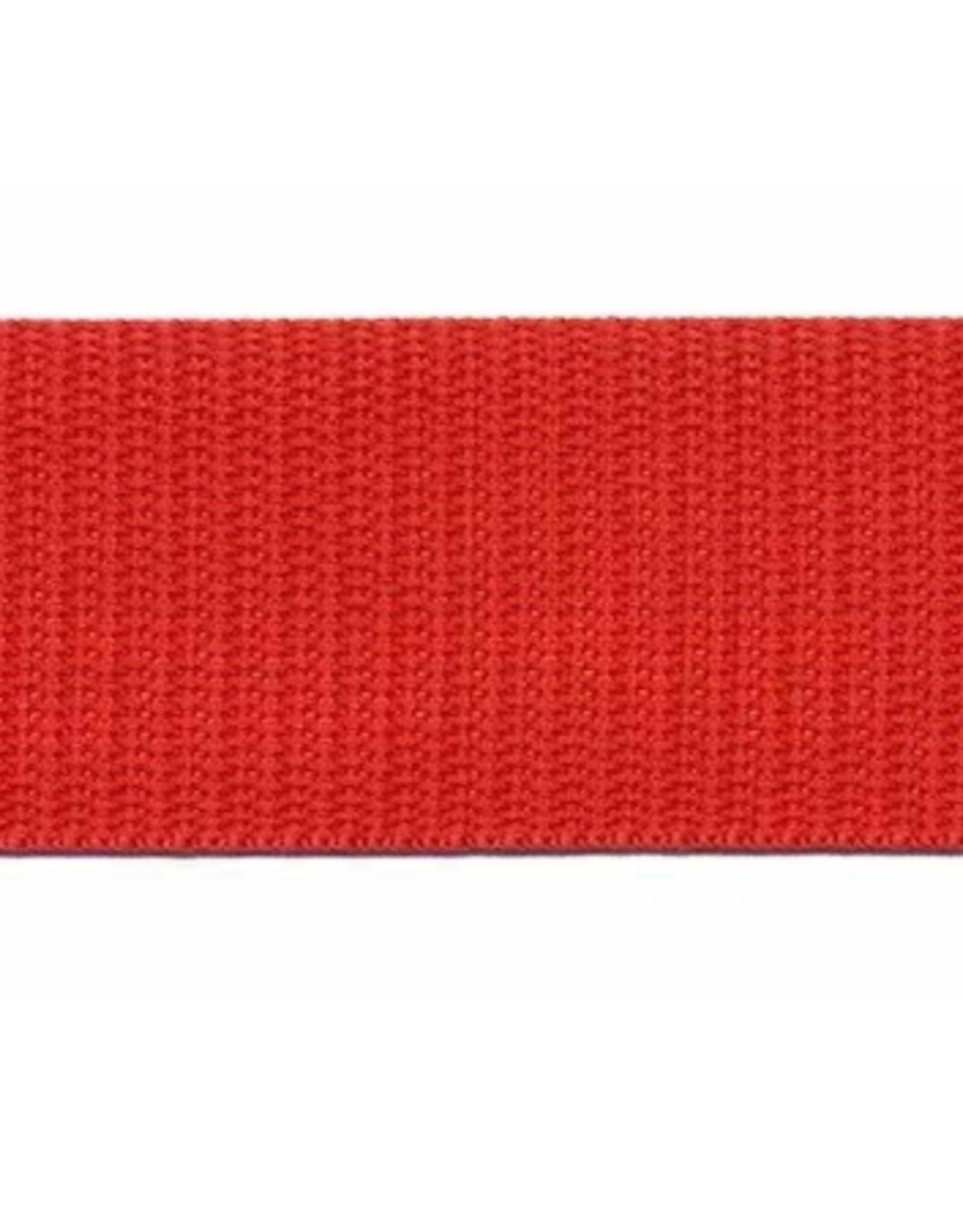 Tassenband Nylon - 30mm - Rood