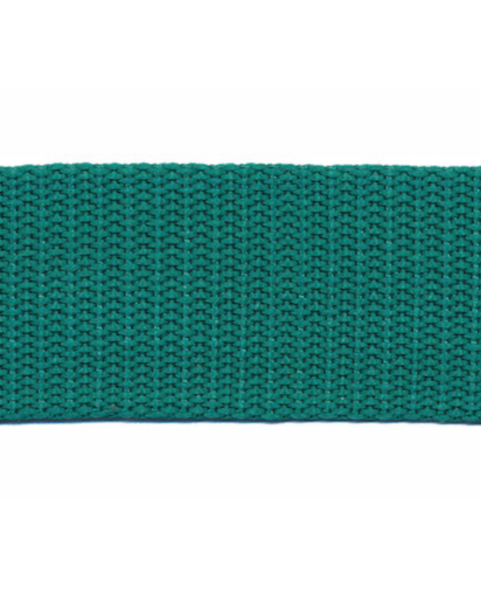 Tassenband Nylon - 30mm - Zeegroen