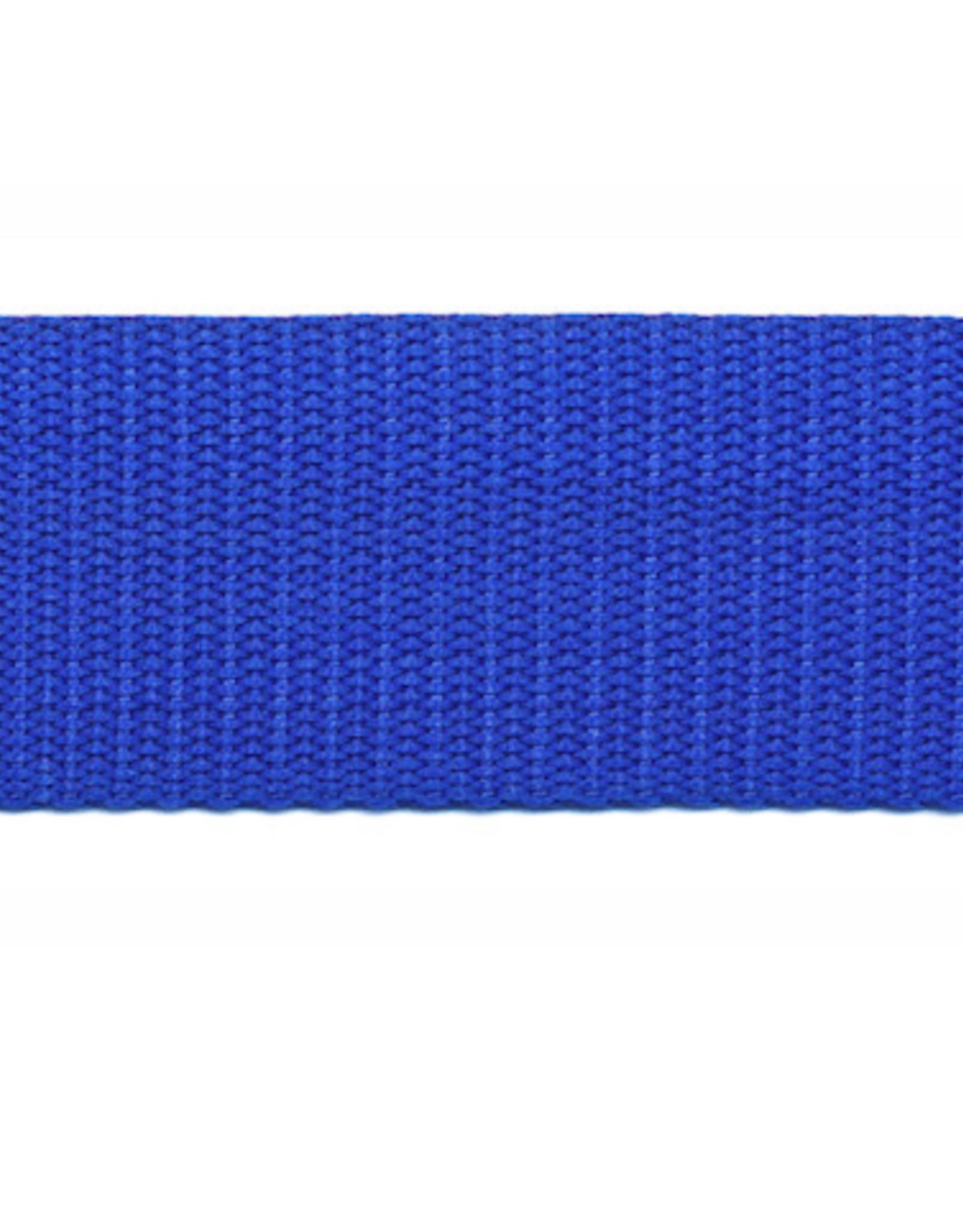 Tassenband Nylon - 30mm - Kobaltblauw