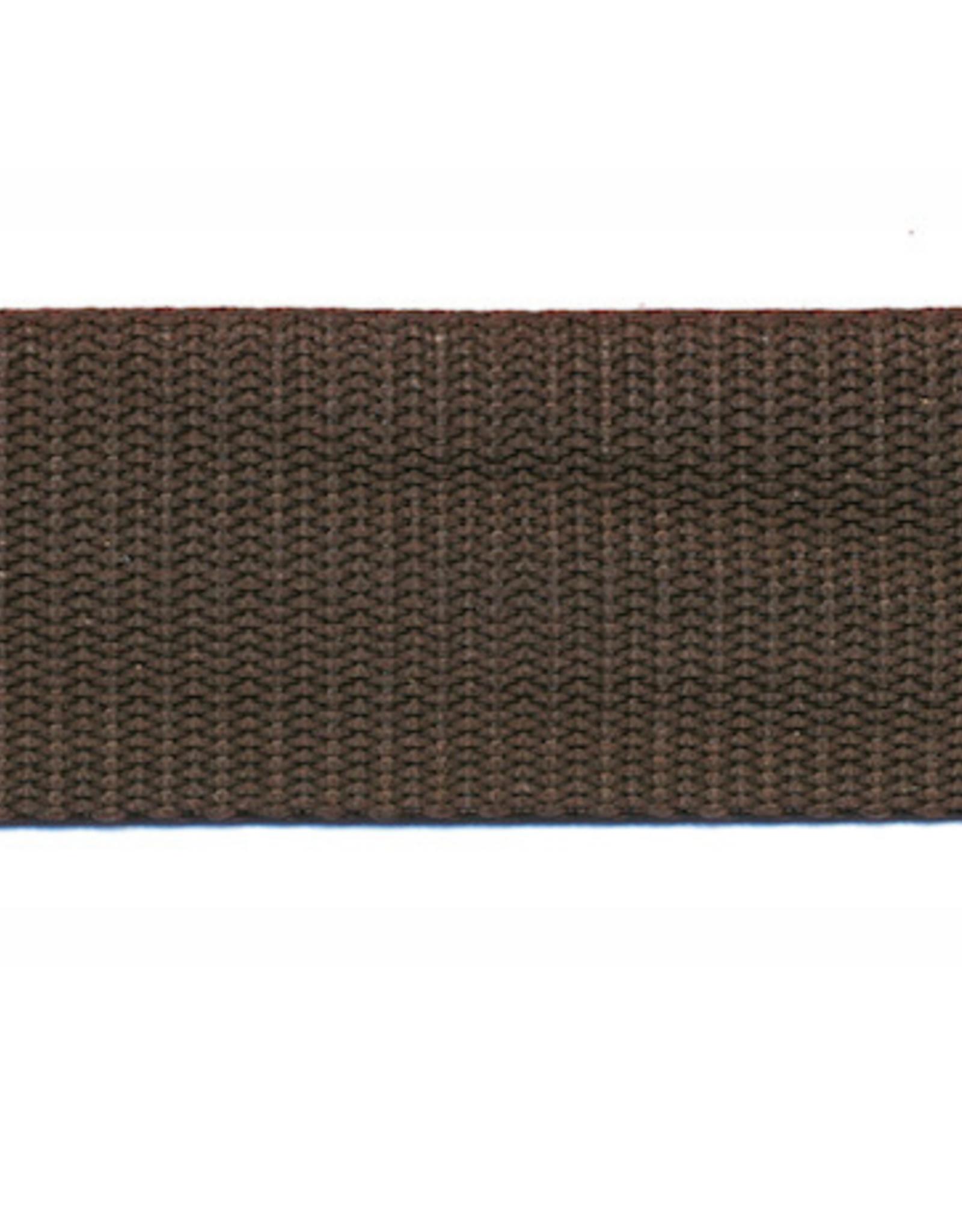 Tassenband Nylon - 30mm - Bruin