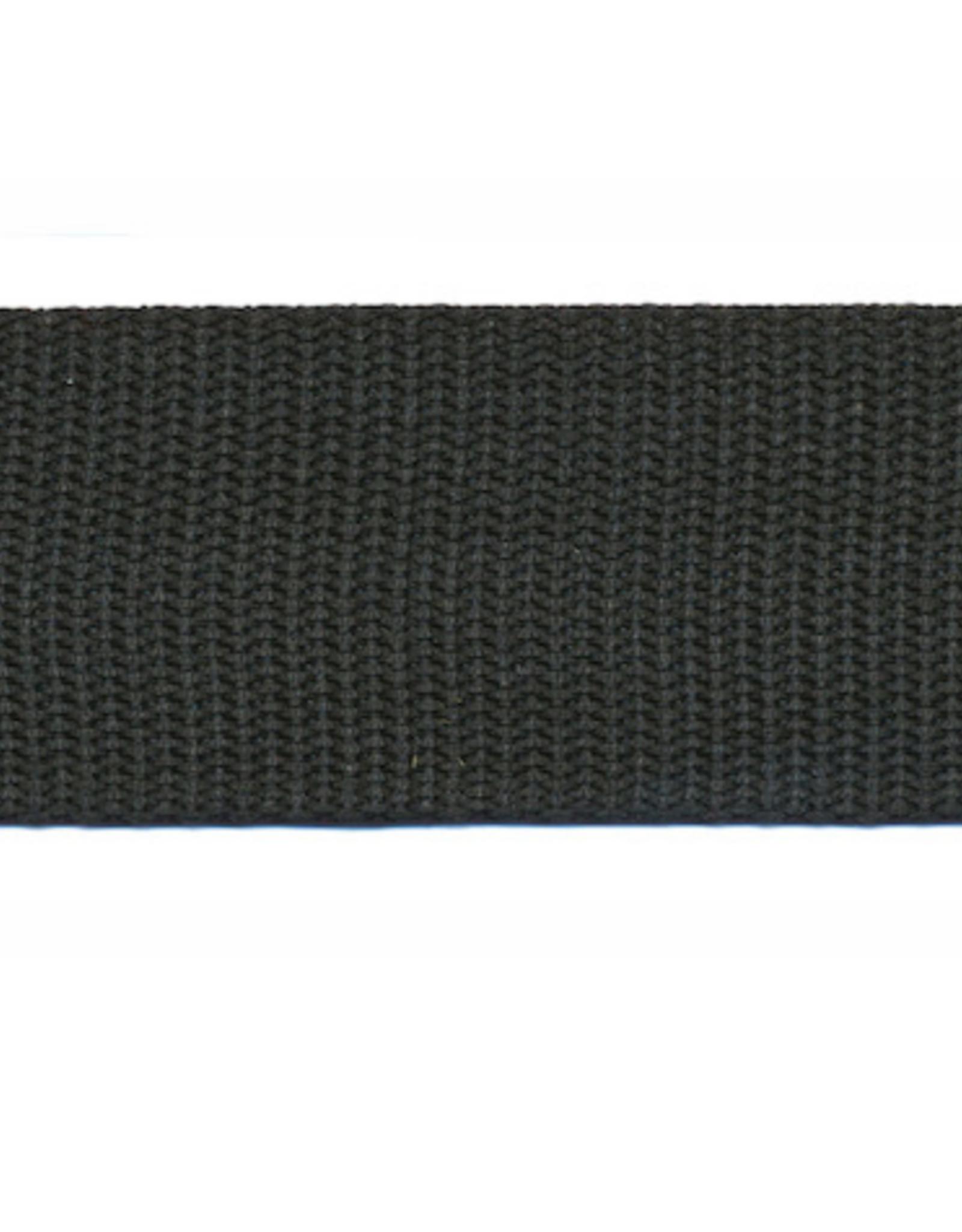 Tassenband Nylon - 30mm - Zwart