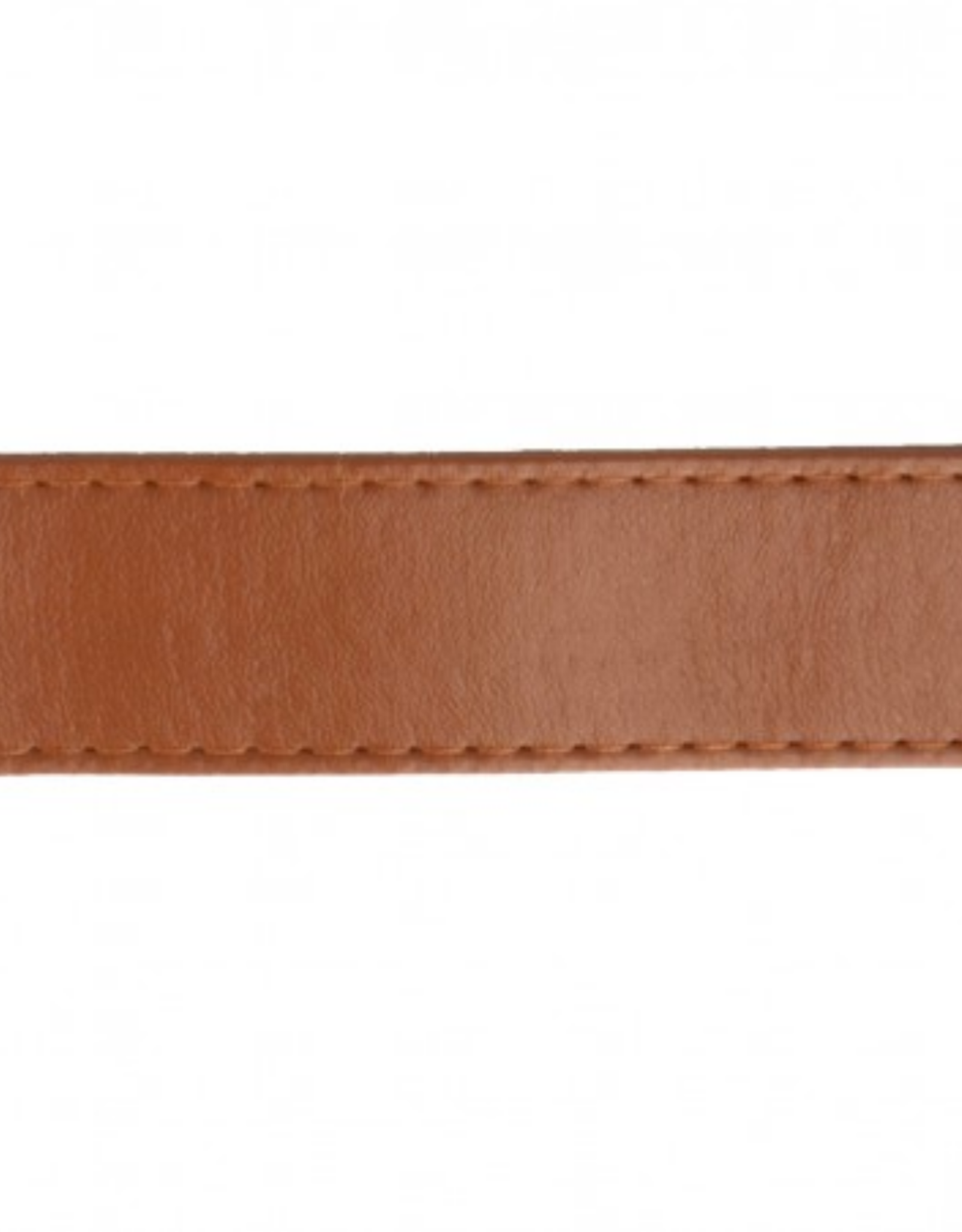 Tassenband - Nepleder Cognac - 25mm