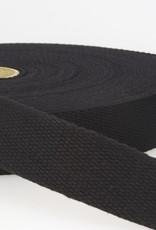 Tassenband - Zwart - 40mm