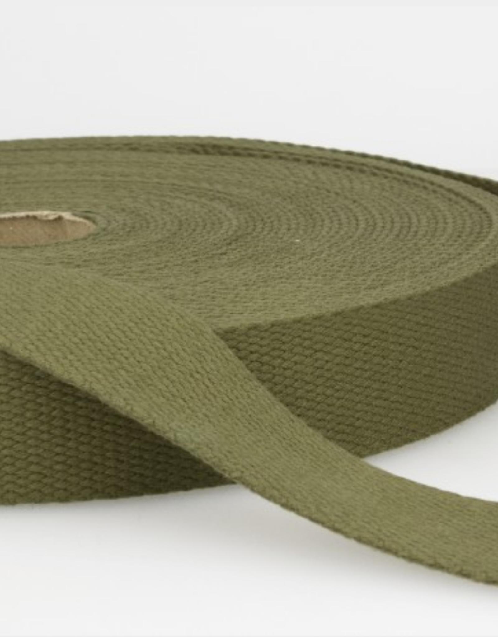 Tassenband - Kaki - 30mm