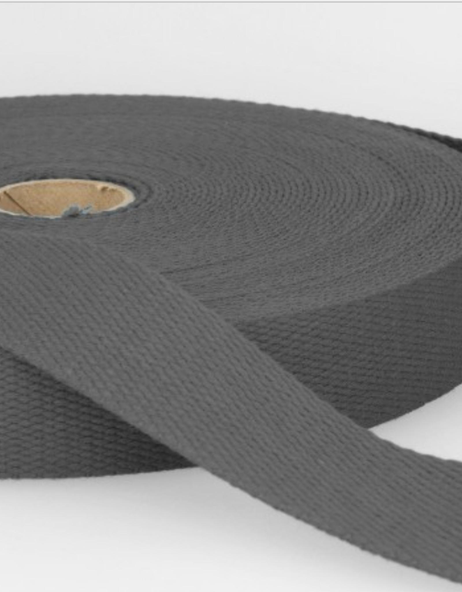 Tassenband - Donkergrijs - 30mm