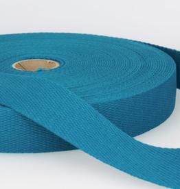 Tassenband - Donker turquoise - 30mm