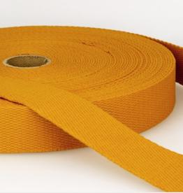 Tassenband - Okergeel - 30mm