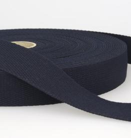 Tassenband - Donkerblauw - 30mm