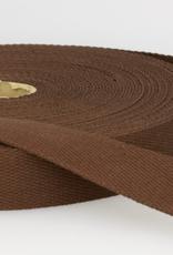Tassenband - Bruin - 30mm