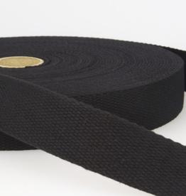 Tassenband - Zwart - 30mm