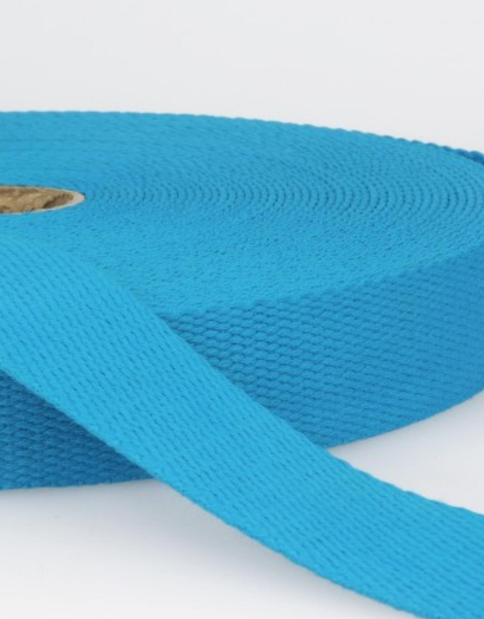 Tassenband - Aqua - 25mm