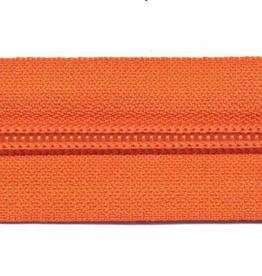 Rits op rol (excl. trekker) - Oranje - Size 5