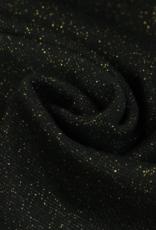 Boordstof Glamour - Zwart/Goud