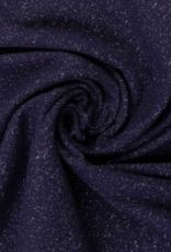 Boordstof Glamour - 95cm - Donkerblauw