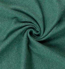 Boordstof Glamour - 95cm - Groen