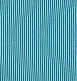 Boordstof Gestreept - Blauw/Petrol