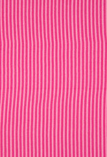 Boordstof Gestreept - Fuchsia/Roze