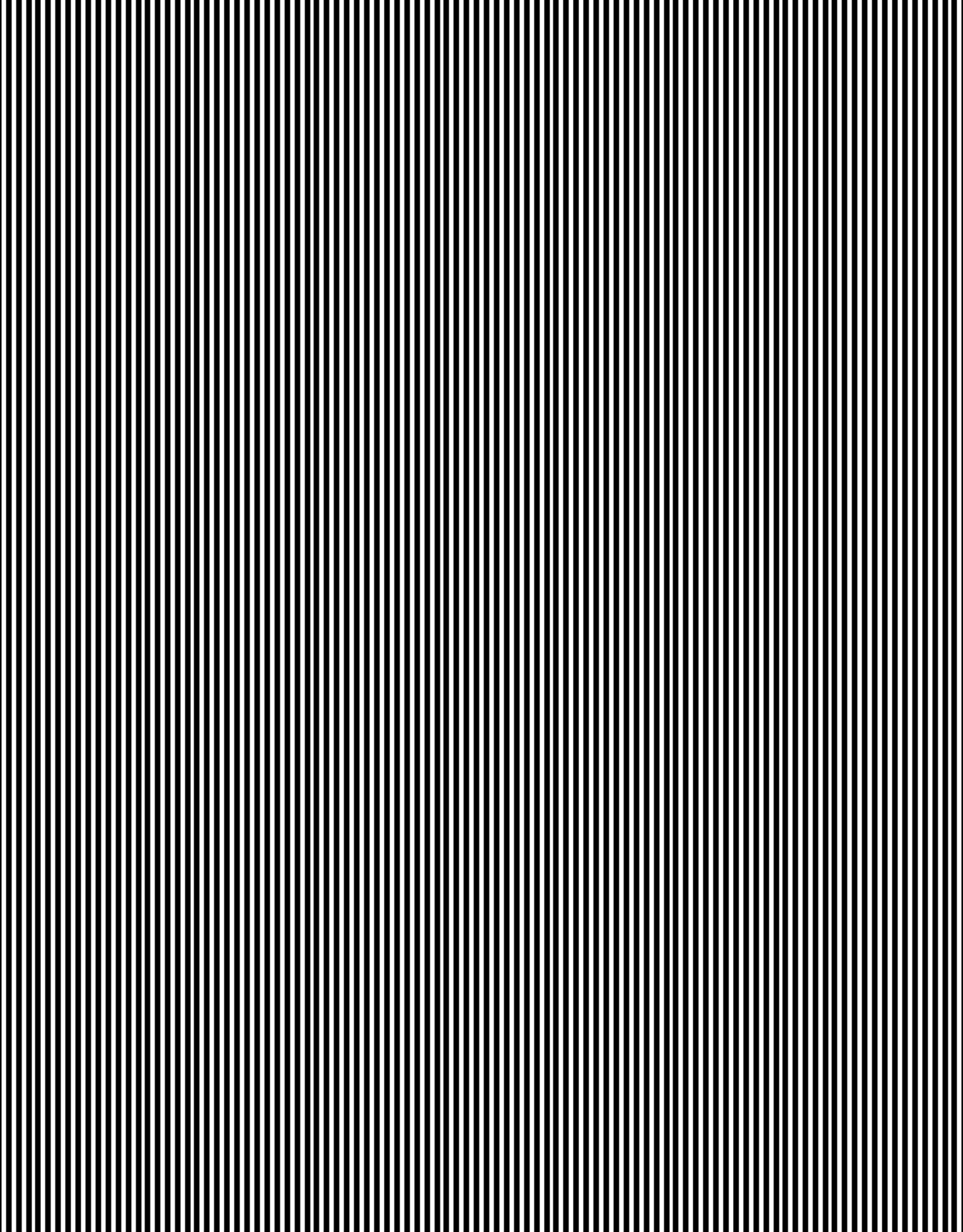 Boordstof Gestreept 1mm - Zwart/Wit