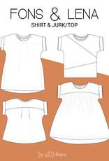Wisj Fons shirt & Lena jurk/top