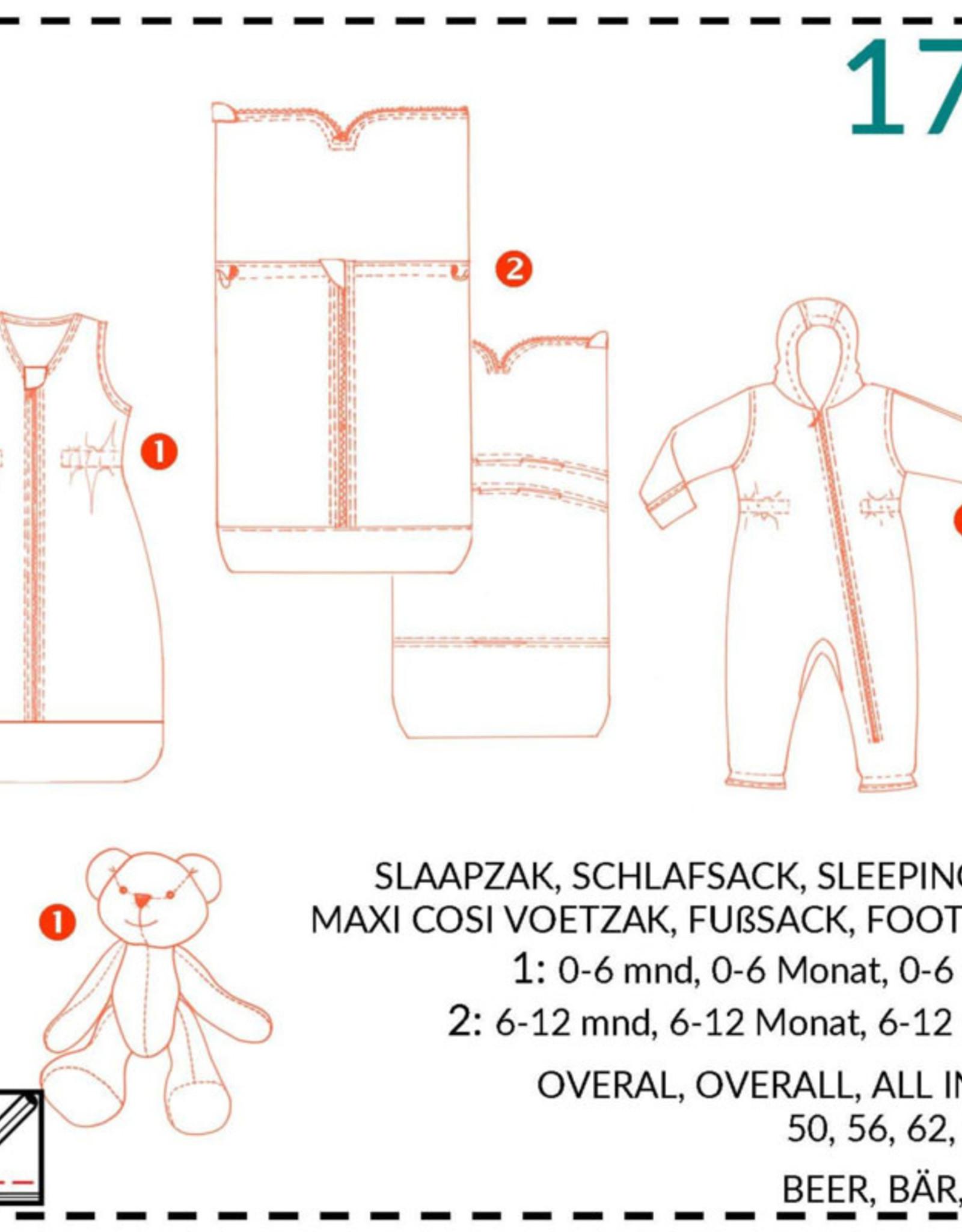 179 - Slaapzak, overall en Maxi-cosi voetenzak
