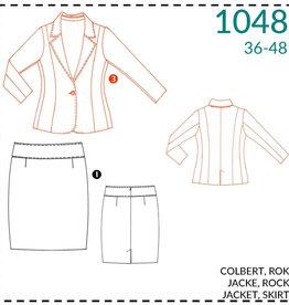 1048 - Colbert & Rok voor dames 36-48
