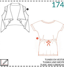 174 - Tuniek en vestje