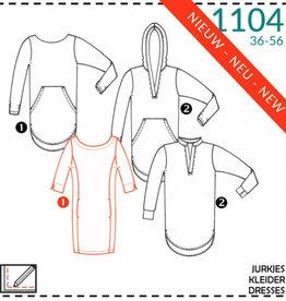 1104 - Jurk 36-56