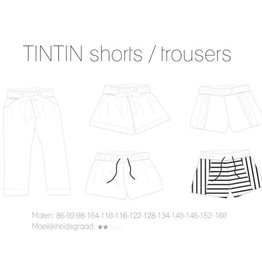 Iris May Iris May - Tintin Short/broek