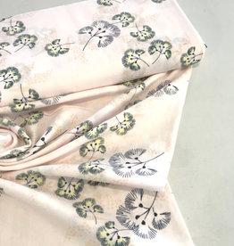 Katoen - double gauze flowers - Light Pink