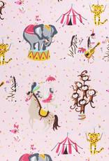 Katoen - Circus Pink