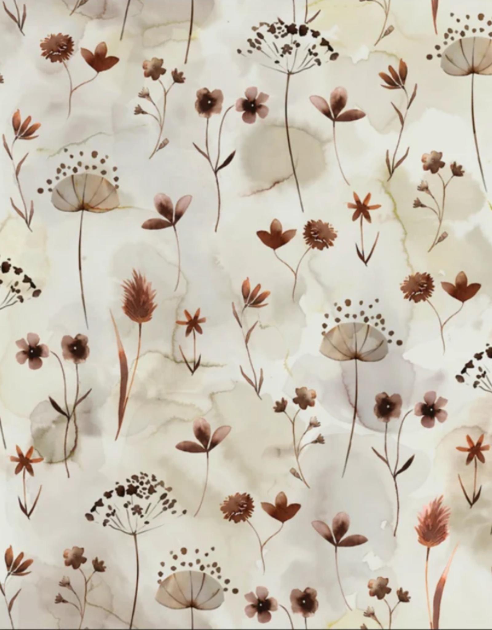 Family Fabrics Tricot - Family Fabrics - Pressed Flowers