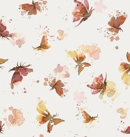 Family Fabrics Tricot - Family Fabrics - Butterflies